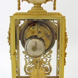 Ormolu Four Glass striking Mantel Clock