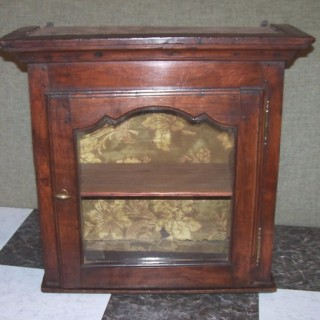 Fruitwood Wall Cabinet