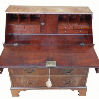Georgian 18th Century Mahogany Bureau