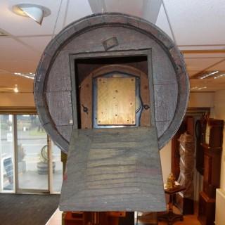 Mechanical timepiece Oak Barrel Clock