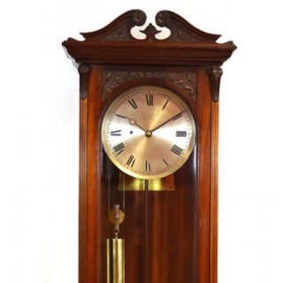 Victorian Regulator Timepiece Wall Clock