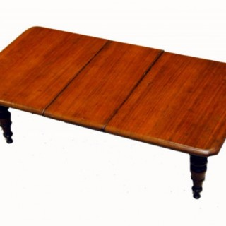 Miniature Mahogany Dining Table