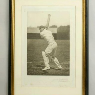 VINTAGE CRICKET PHOTOGRAPH OF F. S. JACKSON