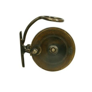 VINTAGE SIDE CASTING FISHING REEL BY MALLOCH OF PERTH