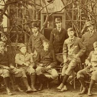 Trinity College, Cambridge University, Beagle Committee Photograph
