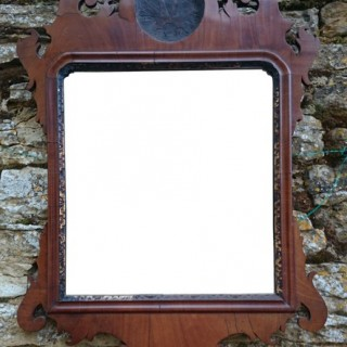 Mahogany Antique Mirror (c. 1880	United Kingdom)