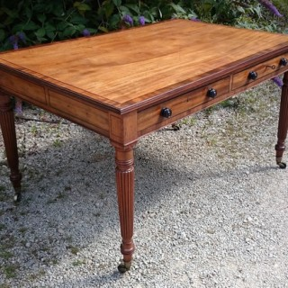 Regency Library Table