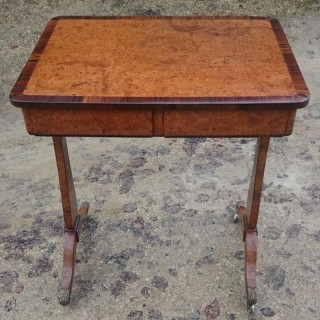 Regency Wine Table / Side Table / Occasional Table