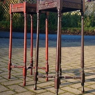 Two Antique Kettle Stands