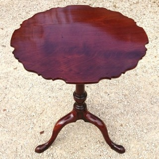 Unusually Small George III Wine Table