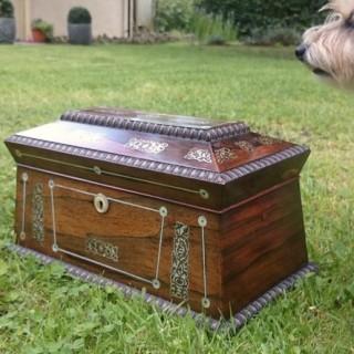 Very Fine Quality Antique Tea Caddy