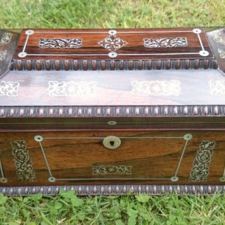 Very Fine Quality Antique Tea Caddy