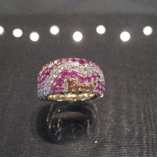 A superb cocktail ring by Mauboussin