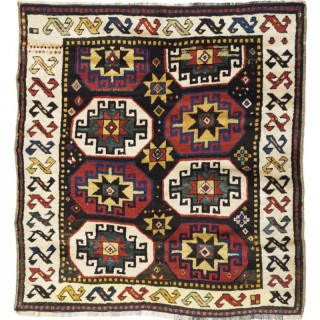 An Antique Kazak Tribal Rug, Caucasus, late 19th Century