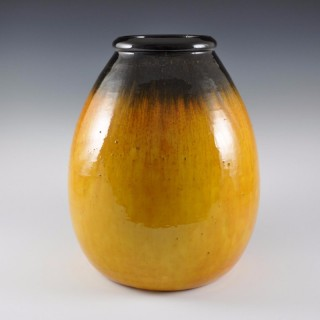 Large Jean Besnard vase