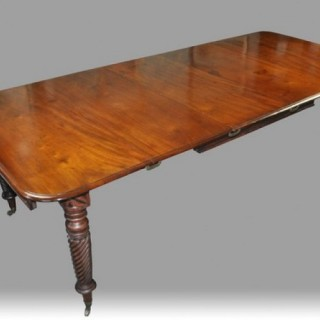 Irish Regency Dining Table