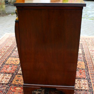 Antique Regency Egyptian Revival Commode / Chest of Drawers