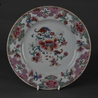 Famlle Rose 9 inch plate