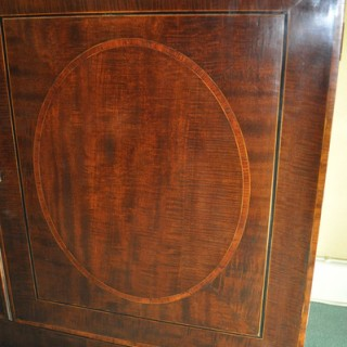 Fine Hepplewhite Bookcase Cabinet