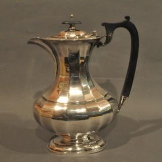 Four Piece Silver Tea Set