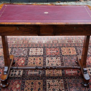 Antique Georgian Rosewood Writing Table