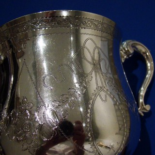 The Tralee Horse Racing Cup - An Irish 18th Century Silver 2-handled Loving Cup
