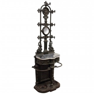 Victorian Cast Iron Hall Stand (1869United Kingdom)