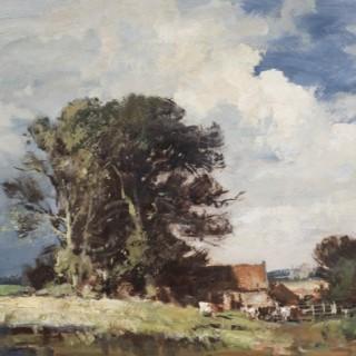 Suffolk Farm in Summer