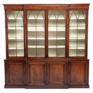 18th Century Breakfront Bookcase