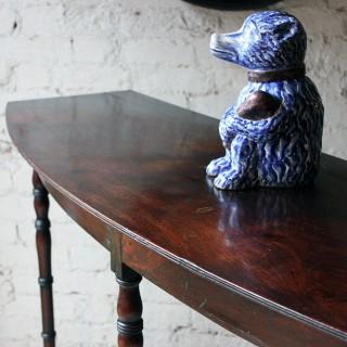 An Elegant Early 19thC Irish Mahogany Serving Table c.1820-30