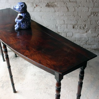 An Elegant Early 19thC Irish Mahogany Serving Table c.1820-30