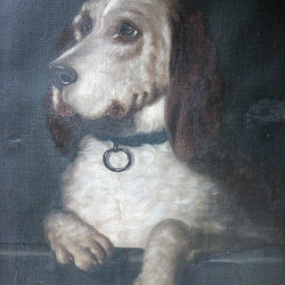 After Sir Edwin Landseer (1802-1873) 'Dignity and Impudence'; A c.1890 Oil on Canvas