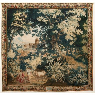 BRUSSELS MYTHOLOGICAL TAPESTRY 'JUPITER AND IO' circa 1690