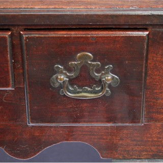 A Fine George II Mahogany 3 Drawer Lowboy Side Table