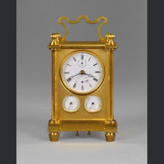 An important nineteenth century English travelling timepiece, by VINER, Regent Street, London c1835