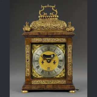 A fine William and Mary quarter repeating spring table clock, by JAMES MARKWICK, London c1695
