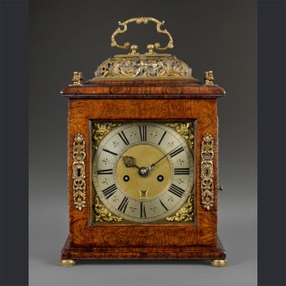 A fine quarter repeating spring table clock, by JAMES MARKWICK, Londini c1690