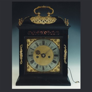 A fine small spring driven striking table clock, by JOHANNES KNIBB, Oxoniae fecit, c1685