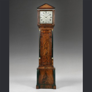 A fine regency longcase clock , by BARWISE, London c1820