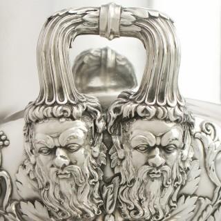 Pair of Sterling Silver Wine Coolers - Antique George III