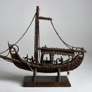 Model ship & crew