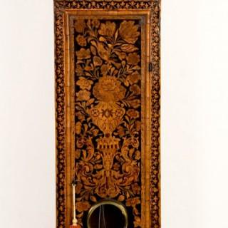 A very fine walnut marquetry longcase clock by John Shaw, Holbourn, London C.1700