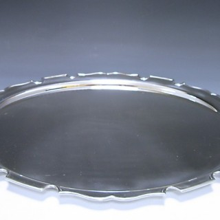 Sterling Silver Two Handled Tray