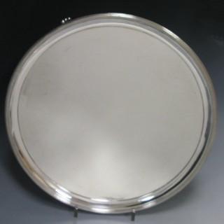 A George III Antique Silver Salver