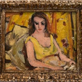 Girl in Yellow Dress - Grace Henry