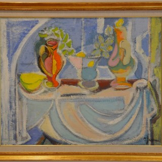 Cubist Still Life - Maurice Grosman