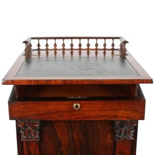 George IV Rosewood Davenport Desk