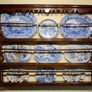 Oak mid C18th Delft Rack