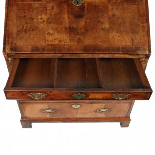George II Walnut Bureau