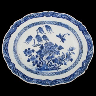 Chinese Nanking Porcelain Dish